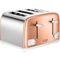 Click to view product details and reviews for Russell Hobbs 24095 4 Slice Toaster Copper Silver Silver.