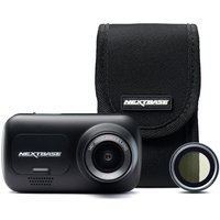 NEXTBASE 222G Full HD Dash Cam, Case & Polarising Filter Bundle - Black, Black