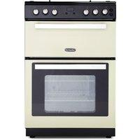 MONTPELLIER RMC61DFC 60 cm Dual Fuel Cooker - Cream and Black, Cream