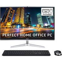 """ACER Aspire C24-1651 23.8"""" All-in-One PC - Intel®Core i7, 1 TB HDD & 512 GB SSD, Silver, Silver"""