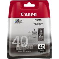 CANON PG-40 Black Ink Cartridge, Black