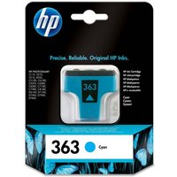 HP 363 Cyan Ink Cartridge, Cyan