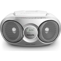 PHILIPS CD Soundmachine AZ215S Boombox - Grey, Grey