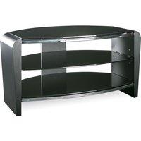 Alphason Francium 800 Tv Stand - Black, Black