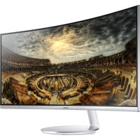 SAMSUNG C34F791 Quad HD 34 Curved LED Monitor - Silver, Silver