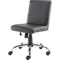 ALPHASON Lane Leather-look Operator Chair - Black, Black