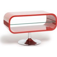 TECHLINK OPOD80W TV Stand - Red, Red