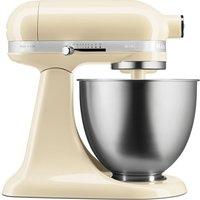 KITCHENAID Artisan Mini 5KSM3311XBAC Stand Mixer - Almond Cream, Cream