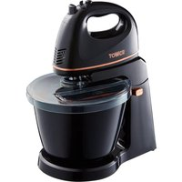 TOWER T12039 Stand Mixer - Black, Black