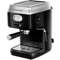 Click to view product details and reviews for Russell Hobbs Retro 28251 Espresso Coffee Machine Black Black.
