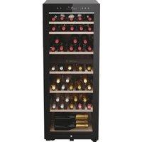 HAIER HWS77GDAU1 Dual Zone Wine Cooler - Black, Black