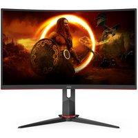 """AOC C27G2ZU/BK Full HD 27"""" Curved WLED Gaming Monitor - Black, Black"""