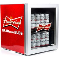 Husky El202 Budweiser Drinks Cooler - Red, Red