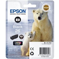 EPSON Polar Bear T2611 Photo Black Ink Cartridge