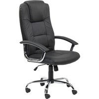 ALPHASON Houston Leather-faced Tilting Executive Chair