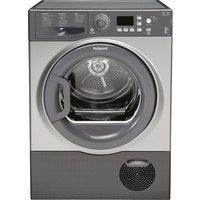 HOTPOINT  Aquarius FTCF87BGG Condenser Tumble Dryer - Graphite, Graphite
