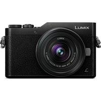 PANASONIC LUMIX DC-GX800KEBK Mirrorless Camera with 12-32 mm f/3.5-5.6 Wide-angle Zoom Lens - Black, Black