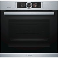 BOSCH Serie 8 HBG656RS6B Electric Smart Oven - Black & Stainless Steel, Stainless Steel