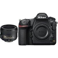 NIKON D850 DSLR Camera & AF-S NIKKOR 50 mm f/1.8 Standard Prime Lens Bundle, Black