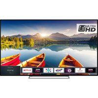 55 Toshiba 55u6863db Smart 4k Ultra Hd Hdr Led Tv, Grey
