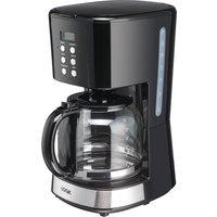 LOGIK L14DCB19 Filter Coffee Machine - Black, Black