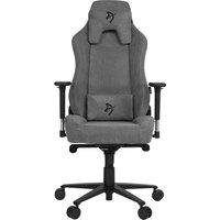 AROZZI Vernazza Soft Fabric Gaming Chair - Ash