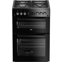 Click to view product details and reviews for Beko Pro Xdg621k 60 Cm Gas Cooker Black Black.