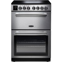 RANGEMASTER Professional PROPL60ECSS/C 60 cm Electric Ceramic Range Cooker - Stainless Steel and Chrome, Stainless Steel