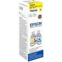 EPSON T6644 Yellow Ecotank Ink Bottle - 70 ml, Yellow