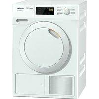 MIELE Eco & Comfort TDD130WP Heat Pump Tumble Dryer - White, White