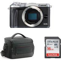 CANON EOS M6 Mirrorless Camera & Accessories Bundle