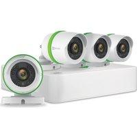 Ezviz 4-channel Full Hd 1080p Home Security Kit - 4 Cameras, 1 Tb Dvr