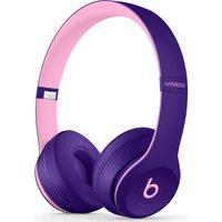 Beats Solo 3 Wireless Bluetooth Headphones - Pop Violet, Violet