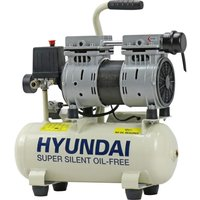 HYUNDAI HY5508 Super Silent Air Compressor - White, White