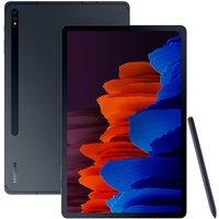 "SAMSUNG Galaxy Tab S7 Plus 12.4"" Tablet - 256 GB, Mystic Black, Black"