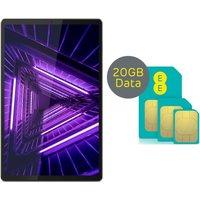 "LENOVO Tab M10 FHD Plus 10.3"" 4G Tablet & EE 20 GB SIM Card Bundle - 64 GB, Grey"