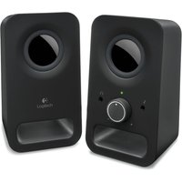 Logitech Z150 Multimedia 2.0 Pc Speakers, Black