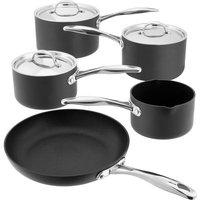 STELLAR 6000 5-piece Non-stick Pan Set - Grey