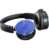 AKG Y50BT Wireless Bluetooth Headphones - Blue, Blue