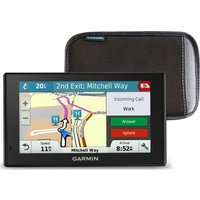 Garmin Drivesmart 51lmt-d Eu 5 Sat Nav - Full Europe Maps & Case