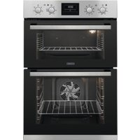 ZANUSSI ZOD35802XK Electric Double Oven - Stainless Steel, Stainless Steel