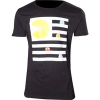 PACMAN Ghosts T-Shirt - Small, Black, Black