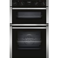 NEFF U1ACI5HN0B Electric Double Oven - Stainless Steel, Stainless Steel