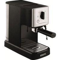 KRUPS Calvi Espresso XP344040 Coffee Machine - Black & Stainless Steel, Stainless Steel