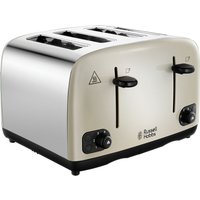 Click to view product details and reviews for Russell Hobbs Cavendish 24091 4 Slice Toaster Cream Cream.