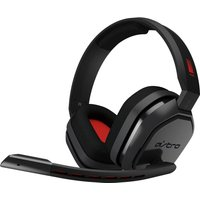 ASTRO A10 Gaming Headset - Grey & Red, Grey
