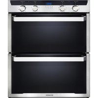 KENWOOD KD1701SS-1 Electric Built-under Double Oven - Black and Stainless Steel, Stainless Steel