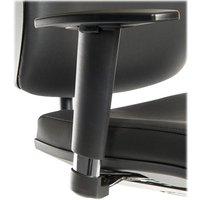 TEKNIK Apex Adjustable Armrests - Black, Black.