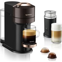 Click to view product details and reviews for Nespresso By Magimix Vertuo Next Milk Coffee Machine Brown Brown.