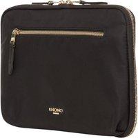 KNOMO Mayfair Knomad Organiser Laptop Case - Black, Black